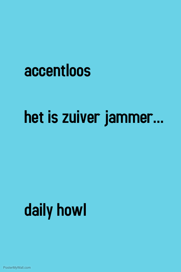 accentloos